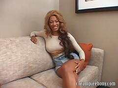 CreampieEbony Video: Florence Dolce