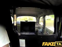 FakeTaxi: Voluptuous log in investigate employ with an increment of gagging for spacious schlong