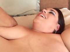 Screwing the Brunette Cleaning-Maid