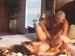 Baby Sitter gets FUCKED by her boss
