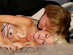 evan fucks young blonde @ father figure #05