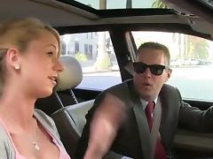 Sexy blond Slut Gets Fucked Hard By Big Black Cock