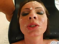 Cum For Cover Garbriella's blindfolded