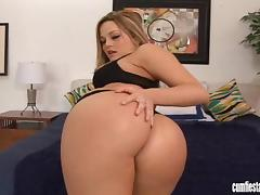 Dazzling Alexis Texas gets fucked in her bald pussy