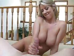 Carolyn Reese Handjob