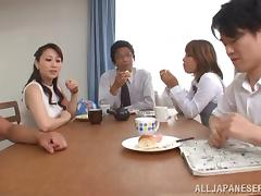 Scrumptious Yuu Kawakami Gets Her Pussy Licked At The Office