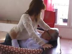 Older dude has a dick for her
